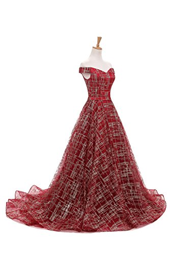 Ivydressing -  Vestito  - linea ad a - Donna rosso vivo