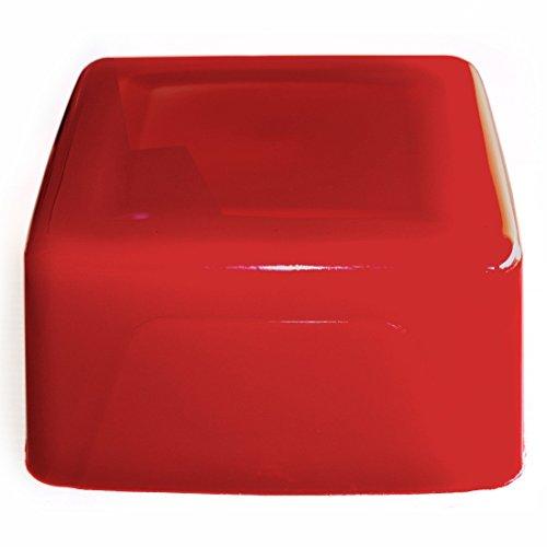 Seifenprofis Gießseife Rohseife Glycerinseife - Rot - 1 kg