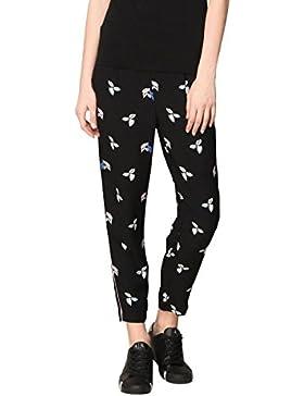 Armani Exchange Pantalone Donna 3ZYP20 YNBDZ Nero
