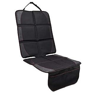 Autositzauflage, JVMAC Premium Oxford Material zum Schutz vor Kindersitzen Isofix geeignet, Auto-Kindersitzunterlage wasserabweisend, Autositzschutz, Unterlage, Schoner in universeller Passform