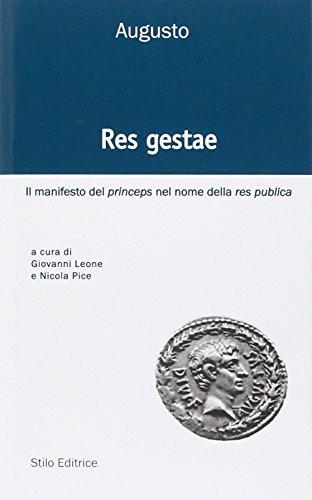 res-gestae-il-manifesto-del-princeps-nel-nome-della-res-publica-ediz-italiana-latina-e-greca