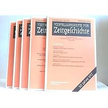 Vierteljahreshefte für Zeitgeschichte. Heft 1 bis 4. Vier Hefte