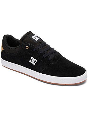 DC Shoes Crisis, Baskets mode homme Noir - Black/Gold