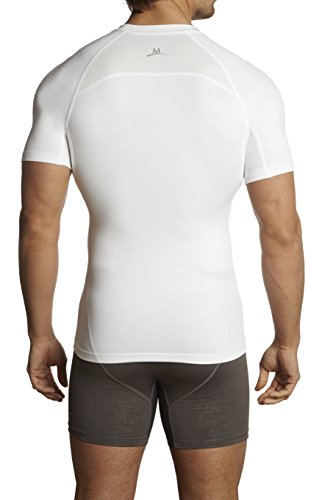 Herren Baselayer Compression Shirt Mission weiß