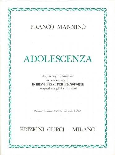 Franco Mannino: Adolescenza - 16 Preludes for Piano