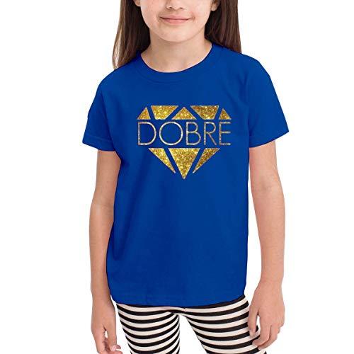 Kinder Jungen Mädchen Shirts Dobre Brothers T Shirt Kurzarm T-Shirt Für Kleinkind Jungen Mädchen Baumwolle Sommer Blau 2 T -