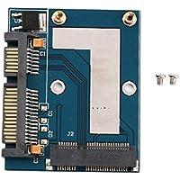 Mini PCI-e MSATA auf 6,35 cm (2,5 Zoll) SATA Adapter Konverter Kartenmodul Blau