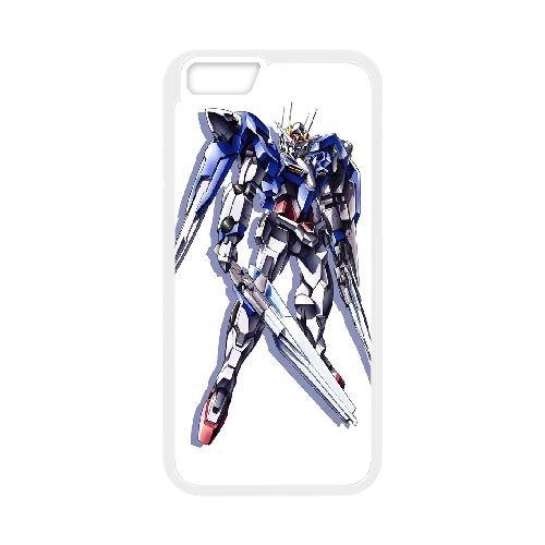 Mobile Suit Gundam 3 coque iPhone 6 Plus 5.5 Inch Housse Blanc téléphone portable couverture de cas coque EOKXLKNBC24661