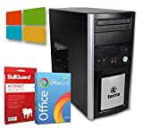 Multimedia Tower PC | Intel Core i5-3470@ 3,2GHz | 16GB | 256GB SSD | DVD-Brenner | Windows 10 Pro | BullGuard | SoftMaker Office