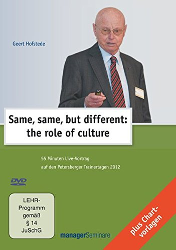 Same, same, but different: the role of culture, 1 DVD