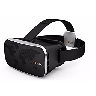 VR Headset, ARCHEER 3D Glasses V3 Virtual Reality VR Video Game Glasses Box Adjustable Headset Mount Compatible with 4.5-5.5 inches Cellphone For iPhone Android Smartphone IOS Samsung
