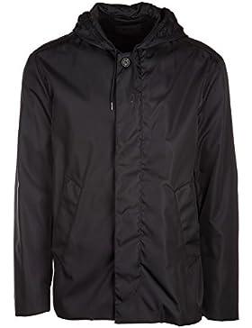 Prada chaqueta cazadoras de hombre en Nylon nuevo caban negro