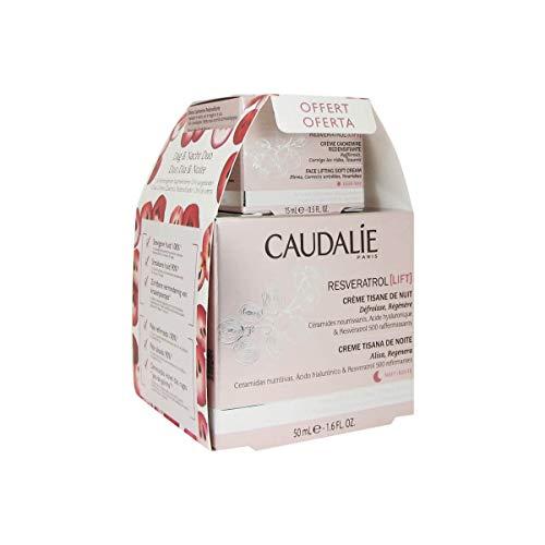 Caudalie Resveratrol Lift Creme Teana de Night 50 ml + Geschenk Creme Kaschmir 15 ml