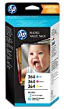 HP 364 Value Pack Photo (50 feuilles, 10x15 cm) pour HP DeskJet 3070A et HP...