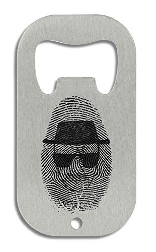 LukeTee Heisenber Fingerprint Breaking Bad Flaschenöffner