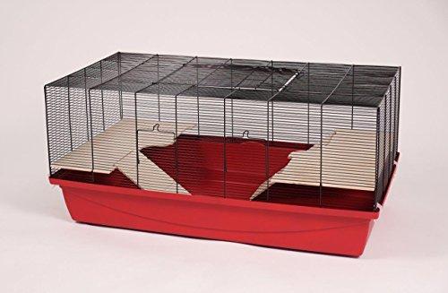 Hamsterkäfig Mäusekäfig Kleintierkäfig Nagerkäfig Ricardo Super R 105x52,5x46 cm - Käfig Super Hamster