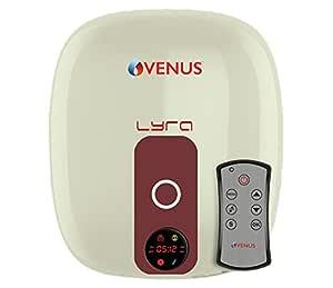 VENUS 10L Lyra Digital 10rd Electric Water Heater (Ivory/Winered)