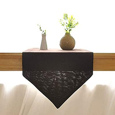 Per Upscale Coffee Color European Style Table Runner for Dining Table and Coffee Table - cheap UK light store.