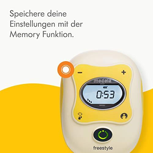 Milchpumpe Medela Freestyle - elektrische Doppel-Milchpumpe, Schweizer Medizinprodukt - 2