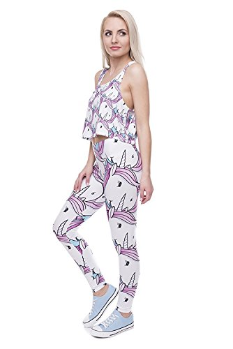 Alive Damen Leggings One size Unicorns