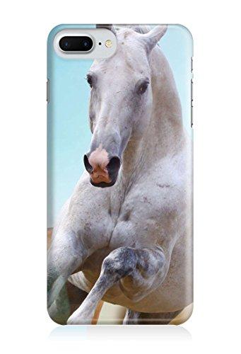 COVER Front weiss Pferd Schimmel Handy Hülle Case 3D-Druck Top-Qualität kratzfest Apple iPhone 6 / 6S