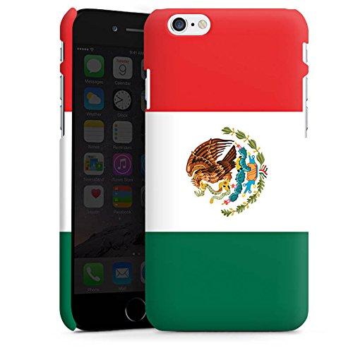 Apple iPhone X Silikon Hülle Case Schutzhülle Mexiko Flagge Fußball Premium Case matt