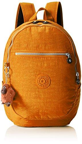 Kipling Clas Challenger, Bolso de Mochila para Mujer, Amarillo (78E Ochre), 26x36x21 cm (B x H x T)