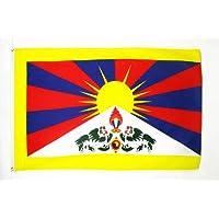 BANDERA del TIBET 90x60cm - BANDERA TIBETANA - BUDISTA 60 x 90 cm - AZ FLAG