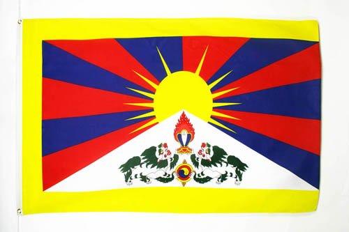 Bandiera tibet 150x90cm - bandiera tibetana 90 x 150 cm - az flag
