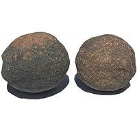 Moqui Marbles Paar Moquis Shaman Stones Schutzsteine U n i k a t   ca. 227,4 g Größe XXL preisvergleich bei billige-tabletten.eu