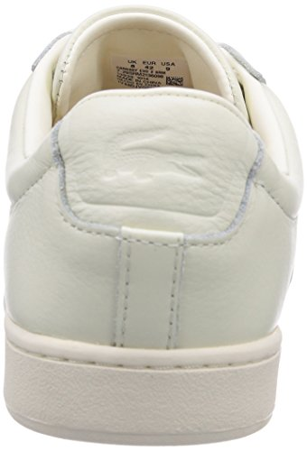Lacoste Carnaby Evo 2, Baskets Basses homme Blanc - Weiß (OFF WHT 098)