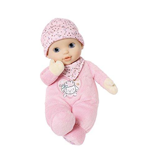 Zapf Creation - Baby Annabell Newborn Heartbeat weiche Babypuppe mit Herzton und sanftem Atem-Geräusch, Einschlafhilfe für Babys und Kleinkinder, rosa, 30 cm - Sanft Waschen, Körper Waschen
