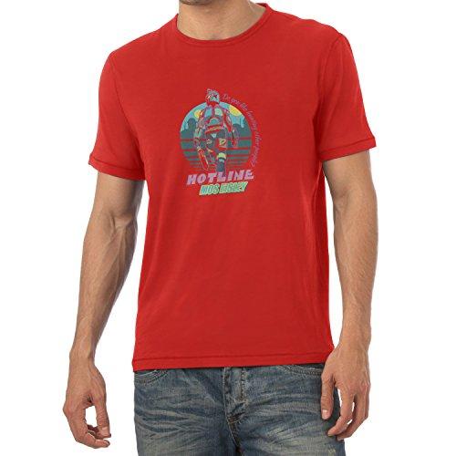 TEXLAB - Hotline Mos Eisley - Herren T-Shirt, Größe M, (Miami Kostüm Hotline 2)