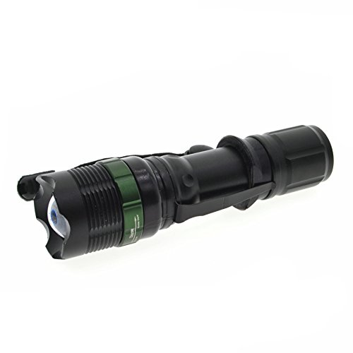 Preisvergleich Produktbild Super helle Cree T6LED-Taschenlampe, 900Lumen 7W Zoomable Taschenlampe mit 18650Li-Ion Akku