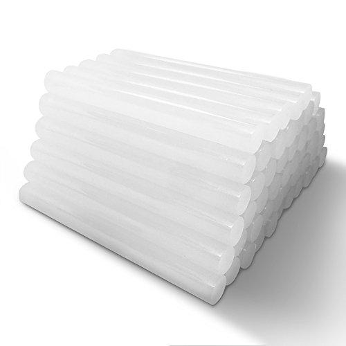 Amdai-Heißklebesticks (50er-Packung) – Ultratransparenter Hobby-Heißkleber für Bastel- und Holzarbeiten, Kunststoff, Keramik, Heißklebepistole und mehr – 11 mm x 100 mm
