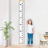 Xelparuc Baby-Wachstumsdiagramm Handing Lineal Wanddekoration für Kinder, Leinwand, Abnehmbare Höhe, Wachstumsdiagramm – 79 x 20 cm