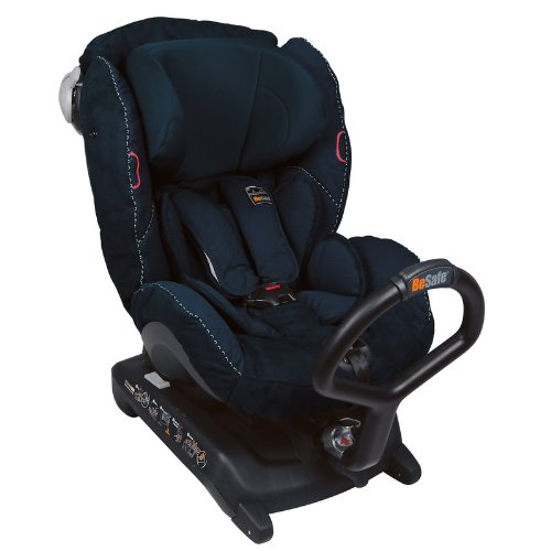 Preisvergleich Produktbild Besafe 7043485371534 Izi Combi, 3 Premium Navy Alcantara, Isofix, blau (Carseat that is 5 x Safer than forward facing carseat)