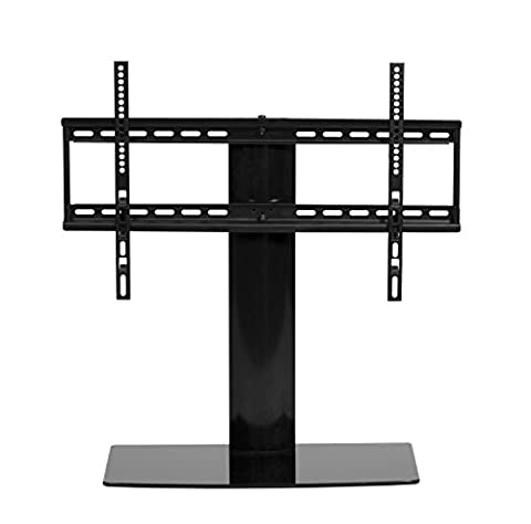 TV base unit - Table top TV stand replacement unit - lost or broken pedestal replacement - for 26 inch to 55 inch swivel action up to 50kg - FREE UK DELIVERY by MMT Furniture Designs