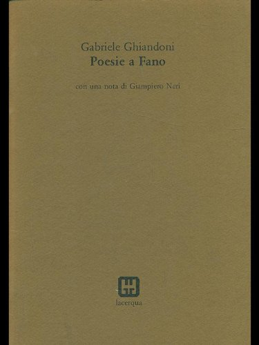 Poesie a Fano
