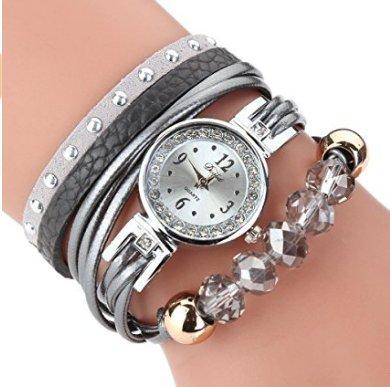 IMBSB Pulseras Mujeres Relojes Vintage Relojes Hechos a Mano Estilo Nacional de Ginebra Que tejen el atrapasueños.