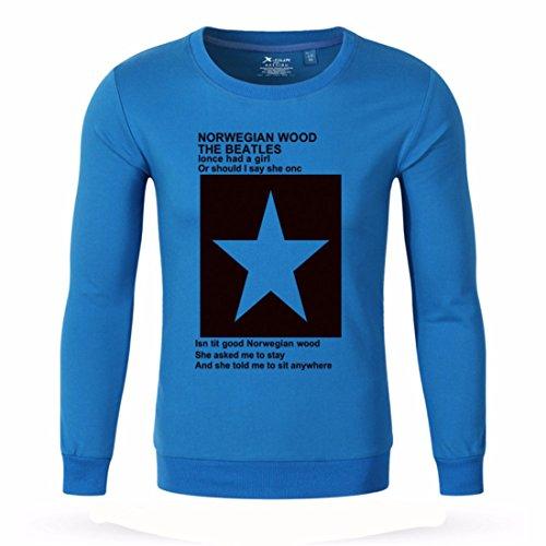 Men's Star Fitness Gasp Sweatshirt DodgerBlue