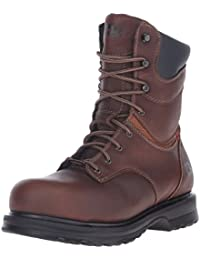 """Timberland Pro Rigmaster 8"""" Femmes Large Cuir Chaussures de Travail"""