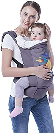 R for Rabbit Hug Me Elite- The Ergonomic Baby Carrier (Dark Grey)