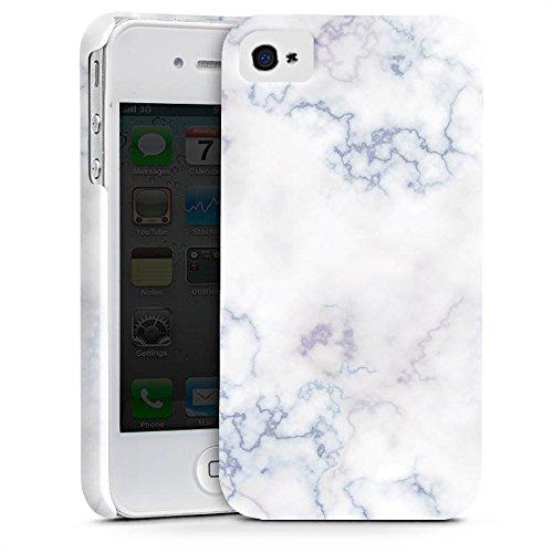 Apple iPhone X Silikon Hülle Case Schutzhülle Marmoriert Marble Marmor Look Premium Case glänzend