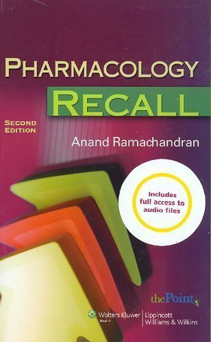 pharmacology-recall-recall-wolters-kluwer-2-pap-psc-edition-by-ramachandran-anand-2007