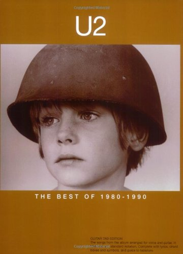 Partition : U2 The Best Of 1980-1990 Guit. Tab