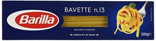 Barilla Pasta Nudeln Bavette n. 13, 8er Pack (8 x 500 g)