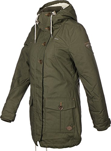 Ragwear Jane Jacket Navy Olive