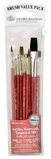 Royal & Langnickel RSET-9153 - Set de brochas variedad sable y camello 10 piezas) (B001BEXBFA) | Amazon Products