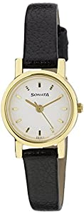 Sonata Analog White Dial Women's Watch-NJ8976YL02W